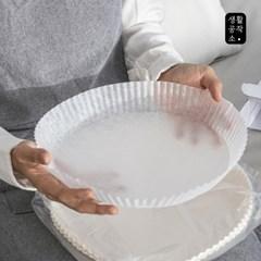 [생활공작소] 접시형 종이호일 50매 x 1입(중/대형)_(999958)