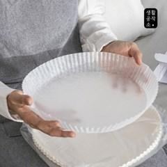 [생활공작소] 접시형 종이호일 50매 x 2입(중/대형)