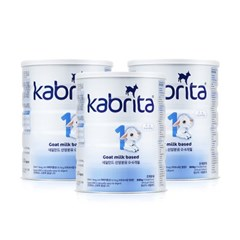 KABRITA 산양분유 0-6 1단계 (800G) 3캔_(2276154)