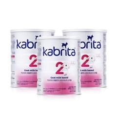 KABRITA 산양분유 6-12 2단계 (800G) 3캔_(2276153)