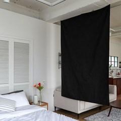 블랭크 블랙 광목 파티션 / 패브릭 가벽 (RM 264001)