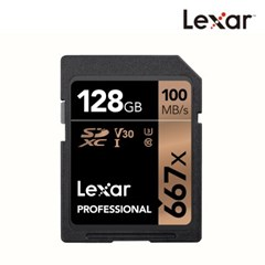 [렉사] 공식판매원 SD카드 667배속 UHS-I급 128GB_(1026040)
