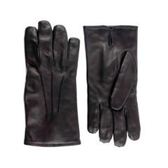 Nappa Leather Gloves For men_Black(Nero)