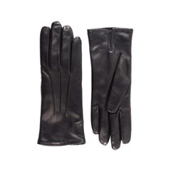 Nappa Leather Gloves For Women_Black(Nero)