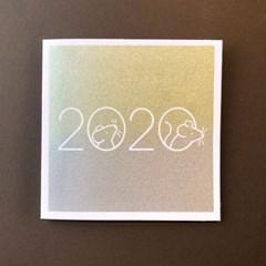 [핸드메이드카드] 흰쥐의 해 2020