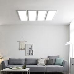 스피아노 LED 평판 엣지 조명 나열형(침실,중대형 거실) : 45Wx4