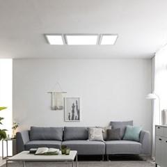 스피아노 LED평판엣지조명 나열형(침실,중소형거실):30Wx2+45Wx1