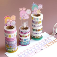 HAPPY VICTORY KAWAII MASKING TAPE HOLDER