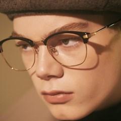BRIO gold-black 안경 여자 철테 패션 알없는_(1791624)
