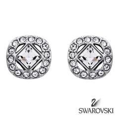 SWAROVSKI 스와로브스키 정품 5368146 ANGELIC SQUARE 귀걸이 이어링