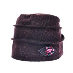 [플릭앤플록]RSS09.꽃장식 인터록 여성 비니 엄마 모자