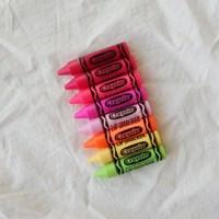 립스마커 크레욜라 크레용 립밤 (8color)