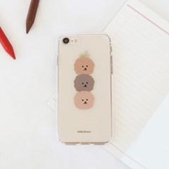 [젤리케이스] 데일리브라운 181 폰케이스 아이폰/LG