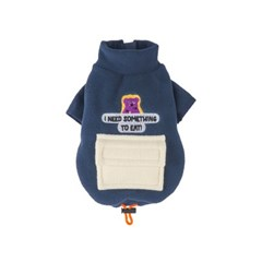 [monchouchou] Alaska Crew Pocket Fleece Jacket_Deep Navy
