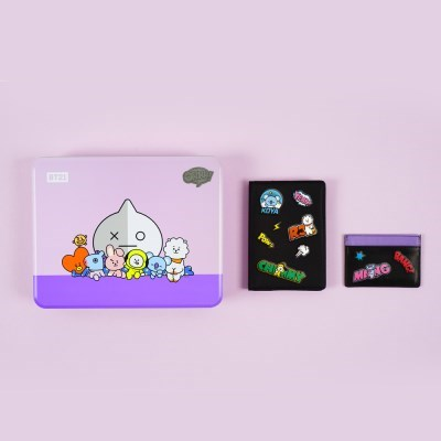 BT21 DIY여권&카드지갑세트