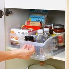 오픈형 냉장고정리용기 냉동실정리함