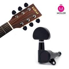 통기타 헤드머신 블랙 줄감개 기타부품 튜닝 기타용품_(1450766)