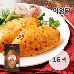 [아임닭] 쉐프메이드 부드러운 마라맛 닭가슴살 120g x 16팩