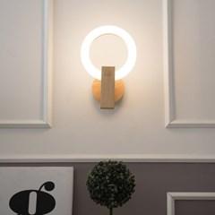 LED 우드 오 벽등 11w