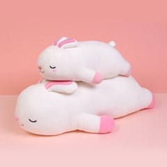 모찌모찌 꿀잠쿠션인형 토끼(중) 동물인형