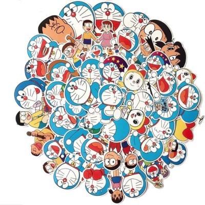 도라에몽 캐릭터 스티커 60장 모음(캐리어 노트북 스티커)