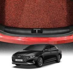 스코코 더 뉴 그랜저 2020 카본 트렁크스탭 커버
