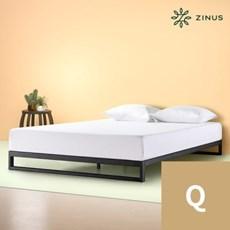 지누스 트리샤 침대 프레임 블랙 (퀸)