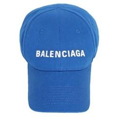 20SS 발렌시아가 자수 로고 볼캡 (블루) 590758 310B2 4277
