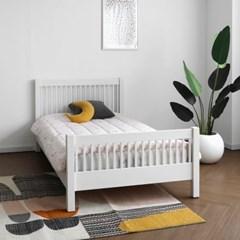 [코코엣지] C형 침대 : 블랑화이트 Q_(1448103)