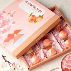 [무료배송] [오븐] 달콤하고 촉촉한~ 복숭아빵 12개입 X 3세트
