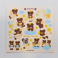 Angel BEAR 시리즈 - 베어즈 스티커(2ea)