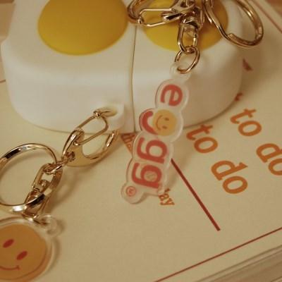 daily recipe keyring eggg 데일리레시피 에그 키링