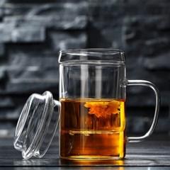 다이브 티머그 유리잔(400ml) / 필터유리컵