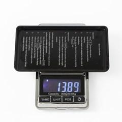 휴대용 소형 전자저울(300g)/0.01단위 초정밀저울