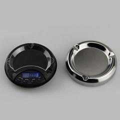 디지털 원형 전자저울(500x0.1g)/계량 주방저울