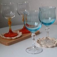 물망초 와인잔