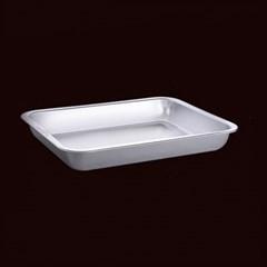 [쿠킹스]스텐 트레이 접시(39x29x4.5cm)/쟁반 접시