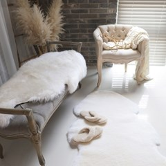 칼리듐 호주산 양털 방석(플리스)