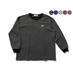 패치 로고 스트라이프 티셔츠 PATCH LOGO STRIPE T-SHIRT(5color)