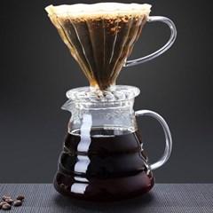 핸드메이드 유리 커피 필터_(1260221)