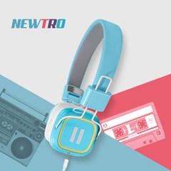 레트로감성 디자인 스마트폰 리모트 헤드폰 Newtro_(1141939)