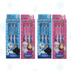 겨울왕국 카트리지 3본 연필 SET (2color)