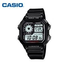 카시오 CASIO AE-1200WH-1AVDF (AE-1200WH-1A) 방수 디_(1292507)