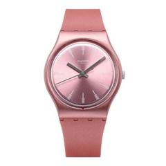 SWATCH 스와치 GP154 여성용 쿼츠 실리콘 시계_(1292474)