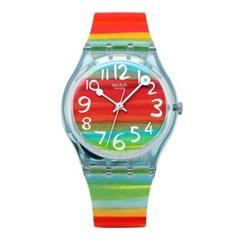 SWATCH 스와치 GS124 여성용 쿼츠 실리콘 시계_(1292475)