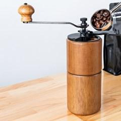 [칼딘] 원목 커피그라인더 원두그라인더 CM-A18LB+청소솔 증정