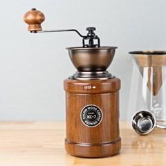 [칼딘] 세라믹 커피그라인더 원두그라인더 오픈형 KC-7+청소솔 증정