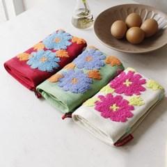FLOWER 주방수건 1P-3color