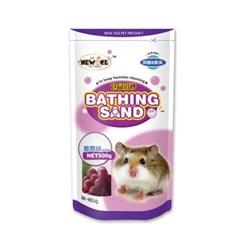 NEW AGE 햄스터 살균 목욕모래 포도향 500g (NA-H010)_(1030291)