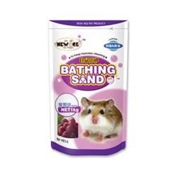 NEW AGE 햄스터 살균 목욕모래 포도향 1kg (NA-H014)_(1030289)
